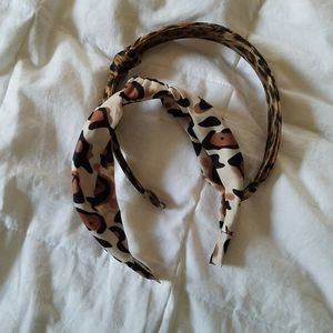 2 🐆 Animal Print Headbands